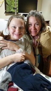 Loving the midwife's assistance during childbirth
